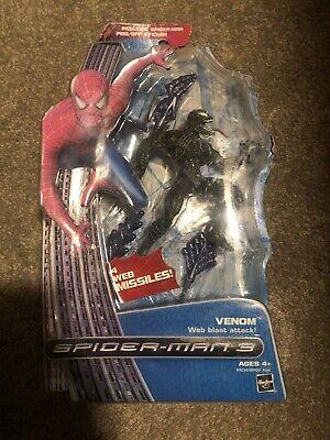 Spider-Man 3 Movie Venom Figure Web Blast attack