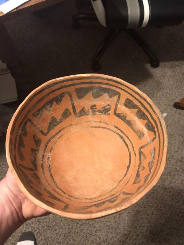 Membres Anistazi Pottery Some y Arizona Color Arrowhead 7 1/2 Inches