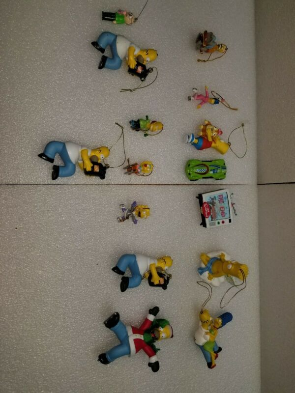 Simpsons christmas ornaments