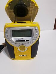 Philips AJ3957 Compact Disc Digital Alarm Clock, Radio And CD Player