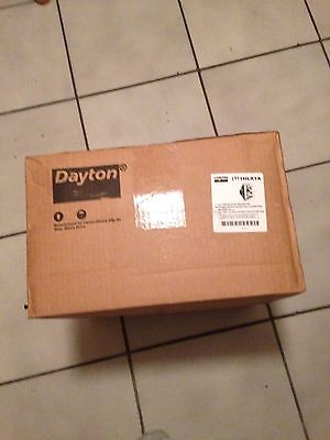 Dayton Exhaust Fan Shutter Mounted 10