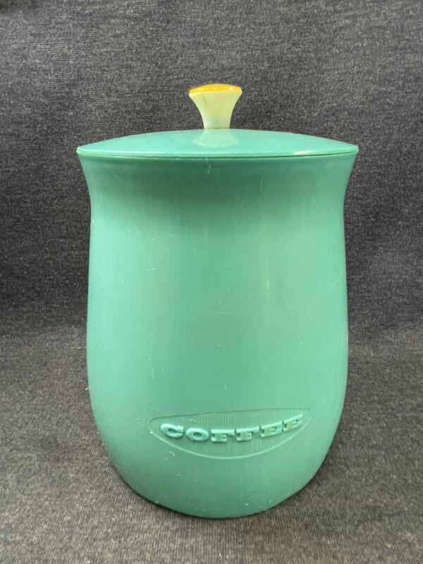 Vintage Plas-Tex Corp Turquoise Blue 1950