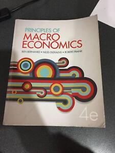 Principles of macroeconomics bernanke textbooks gumtree principles of macroeconomics bernanke textbooks gumtree australia free local classifieds fandeluxe Image collections
