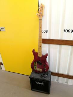 Vantage Avenger Electric Bass Guitar and Amplifier Nerang Gold Coast West Preview