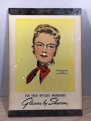 Vintage Sharon Eyeglasses Advertisement Nick Lazarnick