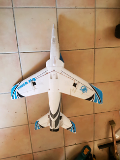 Blue stinger rc jet