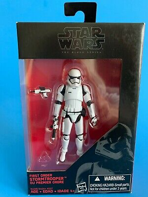 """First Order STORMTROOPER 3.75"""" Black Series (same as Vintage Collection VC118)"""