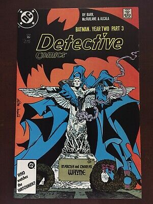 Detective Comics #577 NM or Better Batman Year Two Todd Mcfarlane