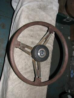 datsun 240k steering wheel Moorabbin Kingston Area Preview