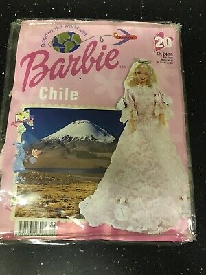 BARBIE VINTAGE DISCOVER THE WORLD OUTFIT CHILE