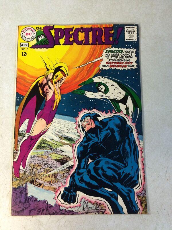SPECTRE #3 NEAL ADAMS, WILDCAT, 1968, DC, ASTRAL AVENGER, nice NM- !!!!