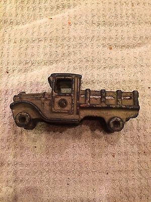 Antique Cast Iron Toy Truck