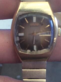 a gold watch