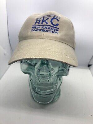 - Rich Kramer Construction RKC Hat Adjustable Baseball Cap