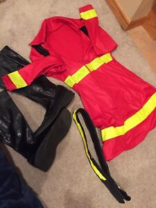 Ladies fireman costume