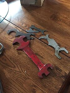 Antique bike tools