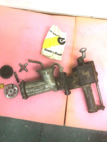 BS4 RARE! MAYTAG NO. 12 MEAT GRINDER Washing Machine Wringer K989 ON OFF SWITCH