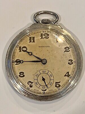 Marconi Vintage Pocket Watch