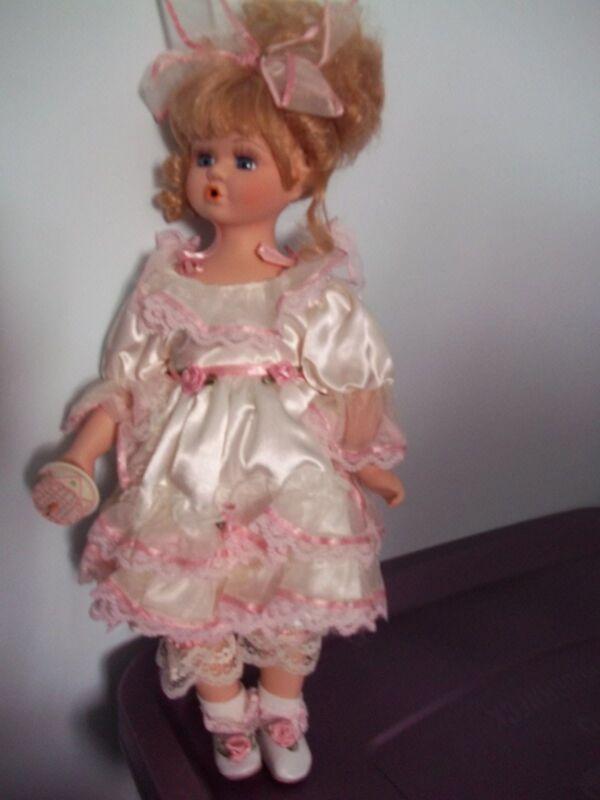 "16 "" Birthday Doll, Named Jenny, with Cake [ New, No.12142 ] Free Shipping]"