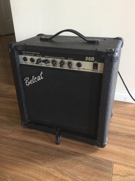 Belcat Amps Bass Belcat 25 b Bass Amp