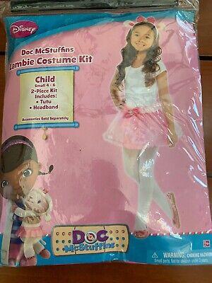 Doc Mcstuffins Lambie Costume Kit Tutu Headband Child 4-6 Amscan 13187