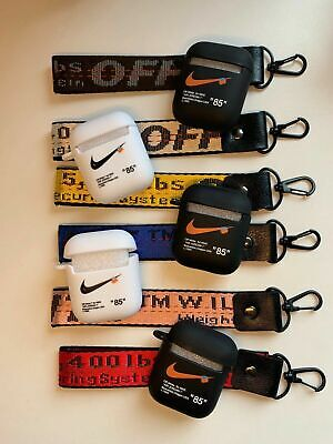 OFF-WHITE X NIKE '85' AIRPOD CASES WITH LANYARD