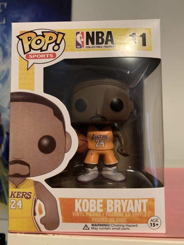 Funko Pop! Kobe Bryant #11 Yellow Gold Jersey #24 NBA Lakers