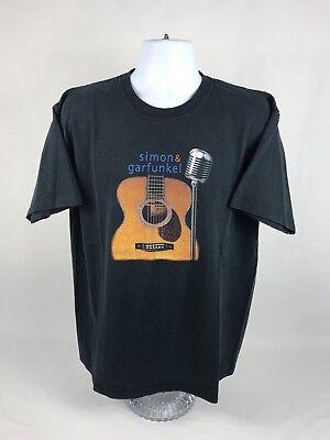 "VTG 2003 Simon & Garfunkel ""Old Friends"" Tour Short Sleeve T-Shirt Size XL"