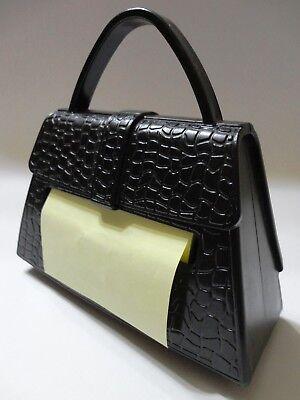 3m Post-it Pocketbookpursehandbag Pop Up Note Dispenser Pd-330 Black