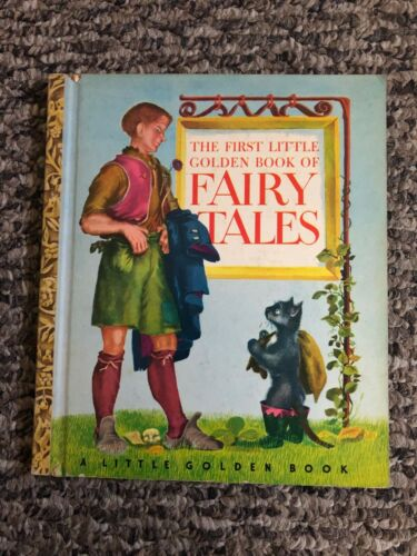 Vintage  The First Little Golden Book of Fairy Tales 1946