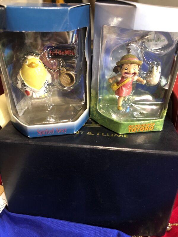 Nibariki My Neighbor Totoro & Spirited Away Toy In Box Designed In Japan Rare