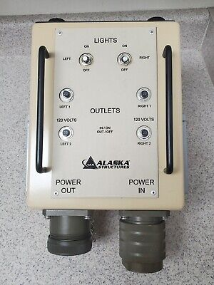 Power Distribution Box Alaska Structures 55a Generator3-phase To Single-phase