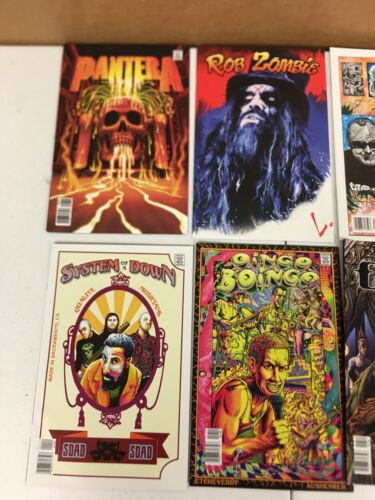 Rock And Roll Biographies ACME Comics Lot of 14 Tool Sublime Metallica NOFX More