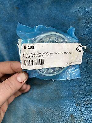 Harley Davidson S&S 0924-0236 Right Main Bearing Crank Case 31-4085