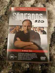Sopranos season 1 dvd boxset