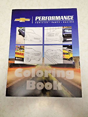 2015 GM Chevy Performance Coloring Book Corvette Camaro Suburban Chevelle Indy