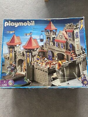 Playmobil Large Knights Empire Castle (3268) used and boxed with instruction