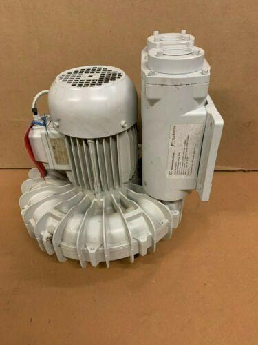 """Fuji Electric Blower VFD41S. 2 HP, 230V, 60 Hz, 3.5 PSIG, 7.1"""" Hg, 120 SCFM"""