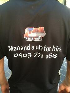 Delivery Man and a ute for hire Petersham Marrickville Area Preview