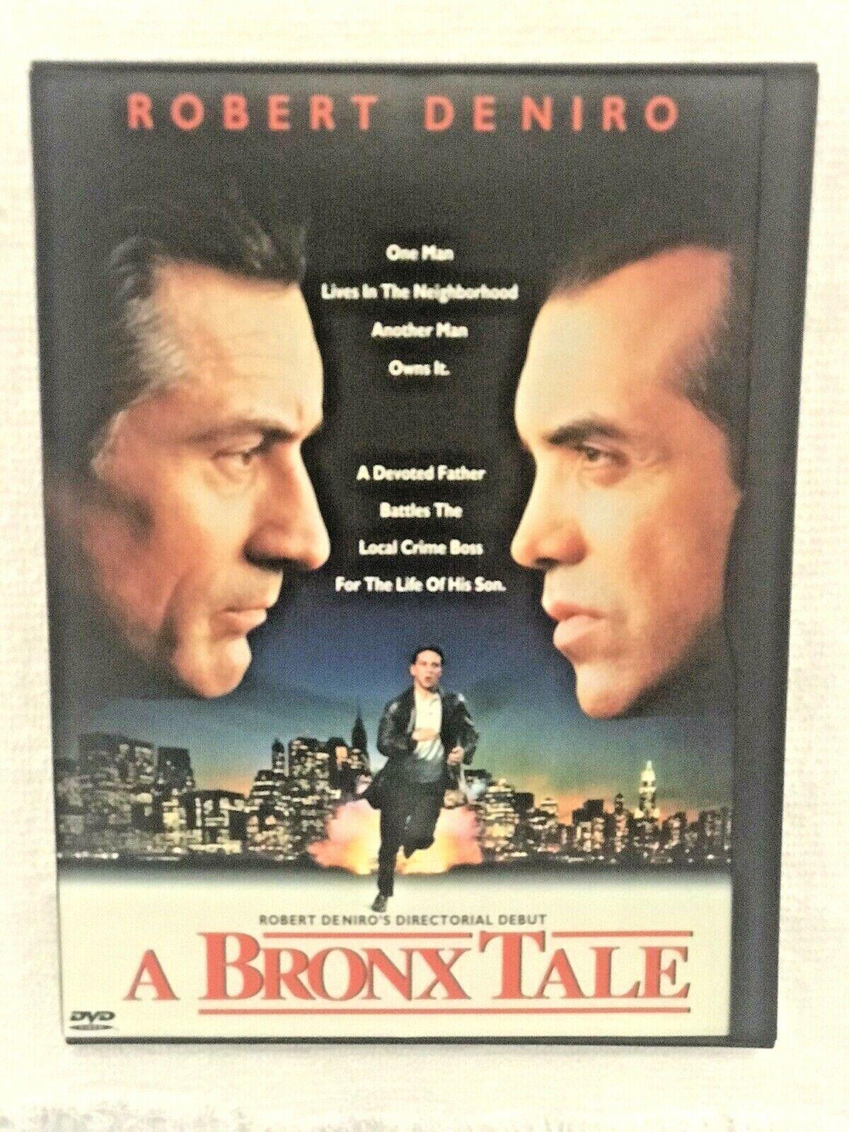 A Bronx Tale DVD / Classic / Robert Deniro /Joe Pesci - $5.50