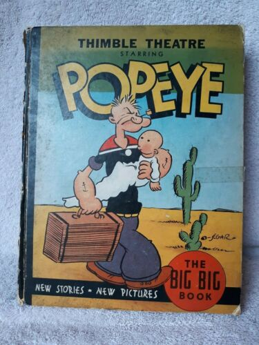 VINTAGE THIMBLE THEATRE STARRING POPEYE - THE BIG BIG BOOK