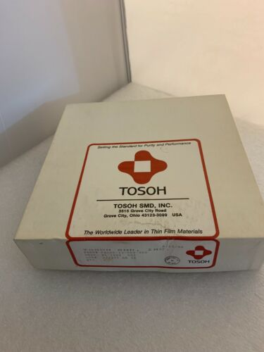 TOSOH Conmag Target,  Aluminum/ 1% Si.  p/n: 08000-13-009-502. for Varian 3180