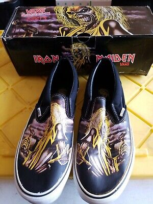 Limited Edition Vans Iron Maiden Mens Shoes Size 10.5