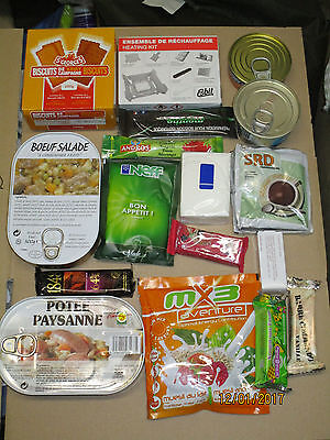 French Individual Reheatable Combat Ration,französische Tagesration, Menu 14