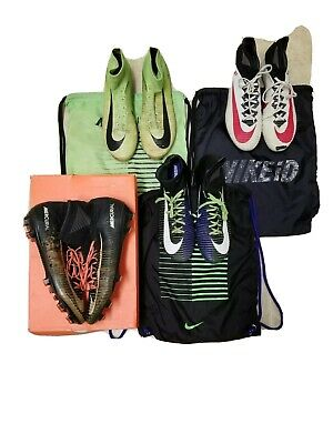 2 Size 8 & 8.5 Nike Mercurial Superfly FG Soccer Cleats w/3 Bag's & 1 Box