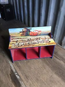 Disney Cars Bench & Storage