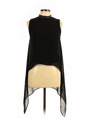 Divided by H&M Women Black Sleeveless Blouse 8
