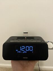 iHome iPLWBT5 iphone & iWatch Radio Alarm Clock Super Rare And Sold out