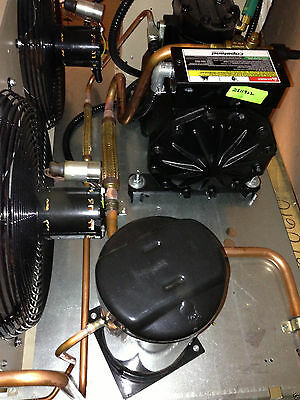 New Overstock 2hp Copeland Semi Indoor High Temp Condensing Unit R22 460v 3 Ph