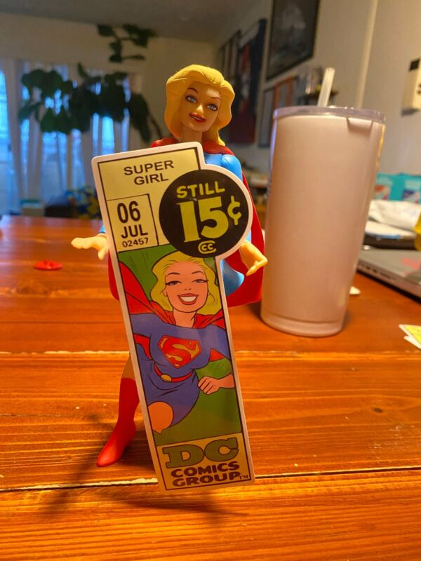 "Marvel Corner Box 5"" Decal sticker Supergirl!"